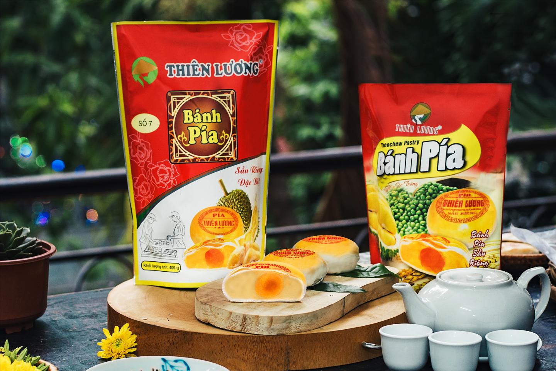 Ngọt ngào bánh pía Thiên Lương