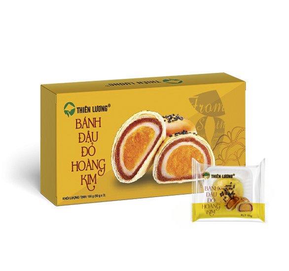 Bánh Đậu Đỏ Hoàng Kim (50 g x 3)